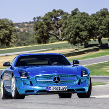 Mercedes says that the SLS AMG Electric Drive will hit showrooms next year