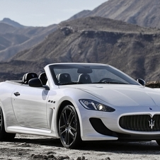 The GranCabrio MC is inspired by the GranTurismo MC