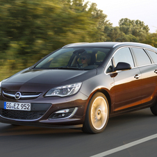 Opel Astra Sports Tourer 1.6 CDTI ecoFLEX Executive