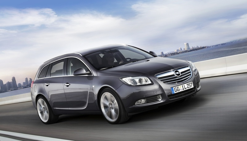 photo courtesy of: Opel. Opel Insignia Sports Tourer 1.6 Turbo ECOTEC