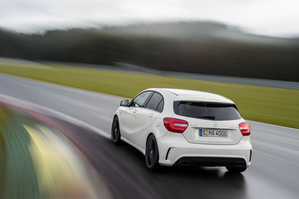 The A45 AMG gets to 60mph in 4.6 seconds