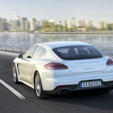 Porsche's smaller sedan will use the company's V6 engines