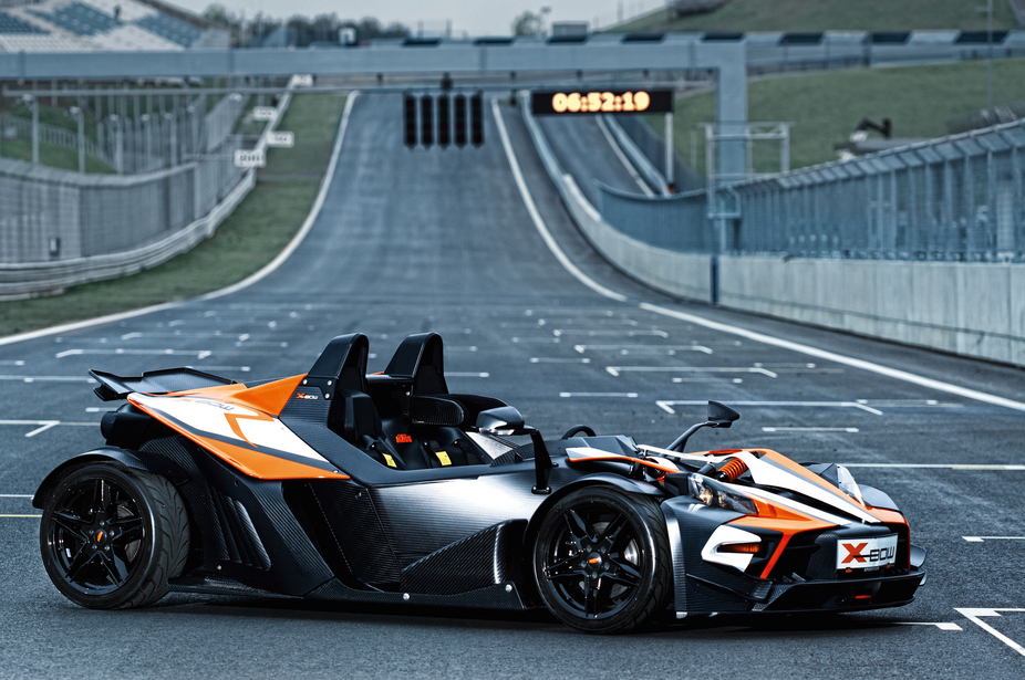 KTM introduced the X-Bow in 2008 with a tuned VW turbo engine