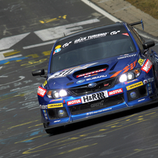 Subaru won the SP3T class in the race this year