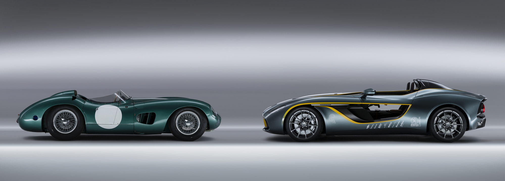 Aston Martin CC Celebrates A Century Of British Sports Cars - Modern sports cars