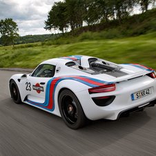 The 918 is due to go on sale in September 2013