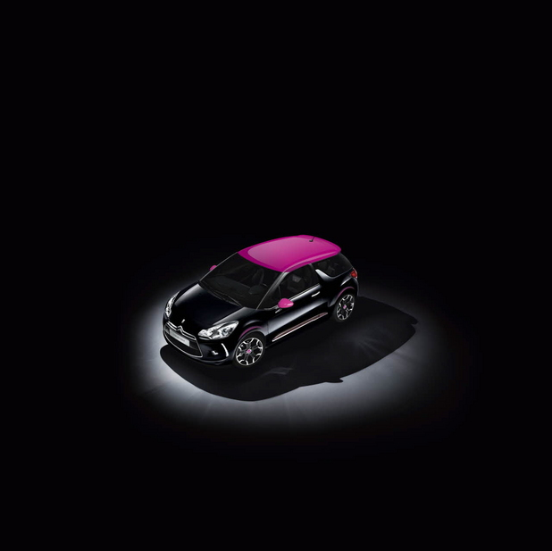 Citroën DS3 Dark Rose Limited Edition