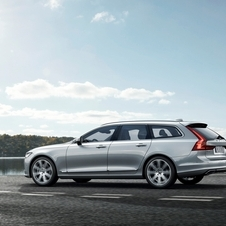 The new V90 estate shares the same security technology as the S90 and the XC90