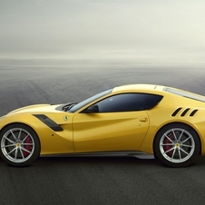 Only 799 units of the F12tdf will be produced