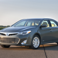 The Avalon gets a hybrid option for the first time this generation.