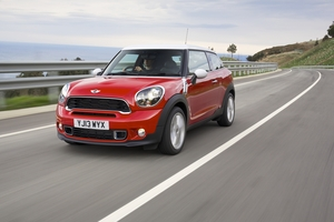 Mini has less to show but has created its own bumper cars for people to drive