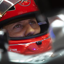 Seven-time world champion Michael Schumacher has scored two points so far this season in four races