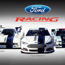 Ford will use one livery this year on its Ford Racing sponsored cars