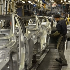 The plant is completing one Qashqai every 61 seconds