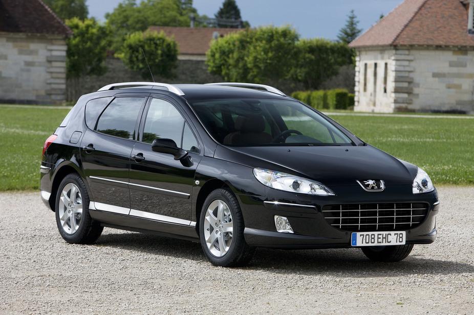 Peugeot 407 SW 3.0 V6 :: 1 photo and 65 specs :: autoviva.com