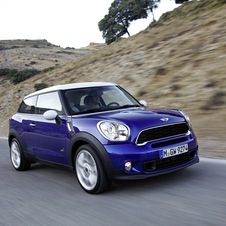 Production Mini Paceman Will Be Revealed in Paris