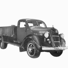 1935- Toyoda enters auto industry with Model G1 Truck two years before Toyota Motor Company starts up