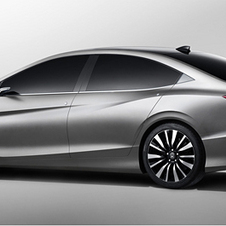 From the side, you can see the Accord DNA