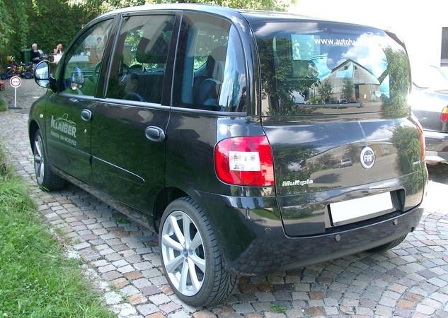 People :: Fiat Multipla 100 16v Gpower SX photo :: autoviva gallery ...