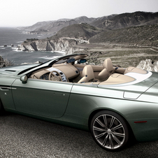 The DB9 Spyder Zagato was made for an American collector
