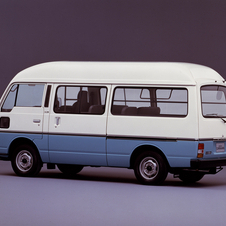 Nissan Caravan High Roof Long GL 5C