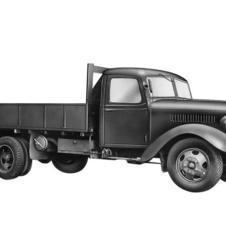 1942 - Introducing Toyota KB Truck, evolution from Model G1, more suitable for wartime use during WW2