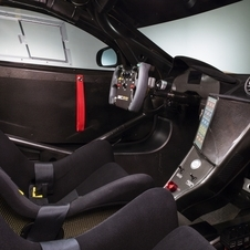 The cockpit is identical to the GT3