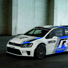 The Polo R-WRC is powered by a 1.6 TSI with 300hp