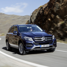 The new GLE will be available at launch with two diesel engines