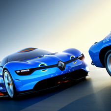 The A110-50 Concept used a Renault V6, but the production version could be a hybrid