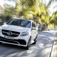At the New York Motor Show Mercedes will also be showing the GLE 63 AMG 4MATIC and GLE 63 AMG S 4MATIC GLE