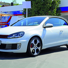 The GTI Cabriolet was shown at Wörthersee last year as a concept and now it is a production car
