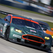 Aston Martin has had significant racing success with the Vantage- and DBR9-based race cars