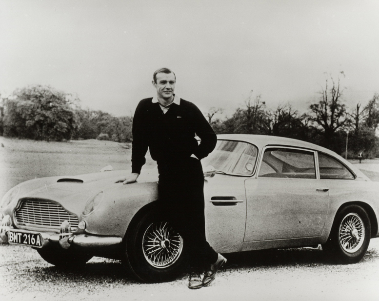 Sean Connery and DB5