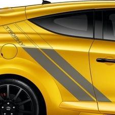New side Renaultsport artwork stands alonside the 19-inch optional alloy wheels