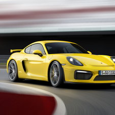 The Cayman GT4 gets a six-cylinder 3.8 boxer engine derived from the 911 Carrera S with 385hp and 460Nm of torque