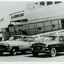 1957 - The U.S. receives its first shipment of the Toyopet Crown, officially establishing Toyota Motor Sales, U.S.A., Inc.