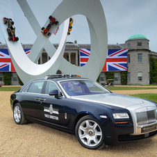 The other Rolls-Royce is meant for VIPs and the press