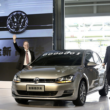 VW will introduce the Golf in China and the US next year