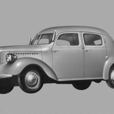 1940- Toyota Builds Model AE sedan