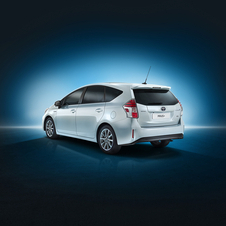 The engine of the Prius+ has also been upgraded and now meets the Euro 6 emissions standards