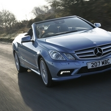 Mercedes-Benz E 350 BlueEfficiency Cabriolet Elegance
