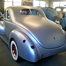 The 40 Ford is very popular among hot rodders.