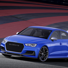 The A3 clubsport quattro is powered by a highly modified version of the direct injection petrol 2.5-liter engine