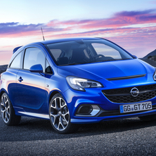 Performance of the new Corsa OPC is responsibility of the 1.6 Turbo ECOTEC engine with 207hp and 280Nm of torque