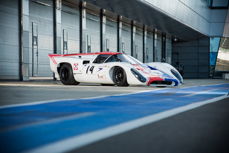 The T70 was used in two scenes of Le Mans