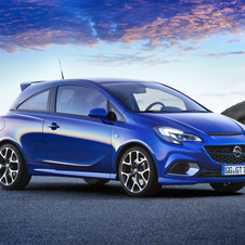 The Corsa OPC is able to accelerate from zero to 100 km/h in 6.8 seconds