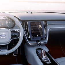 The brand has developed a clean and simple interior where the amount of buttons is significantly reduced