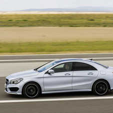 The front would be taken from the CLA-Class