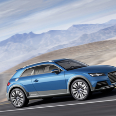 The profile shape is more similar to the Allroad than a crossover